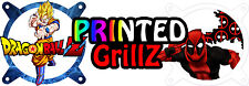 Printed Grillz - PC Fan Grill Cover Choose Your Design 140mm Custom Fan Grill