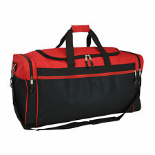 "DALIX 25"" Extra Large Vacation Travel Duffle Bag Carry Bag Gym Sports Bag Red"