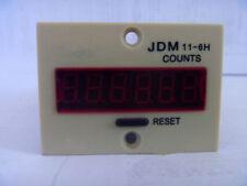 JDM11-6H LED Display Panel Digital Counter Cumulative AC 220V