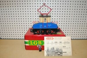 LGB 2030E E1 Mixnitz - St. Erhardt Electric Locomotive *G-Scale*