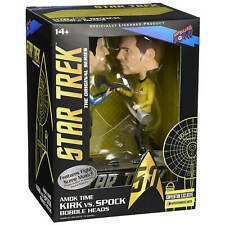 STAR TREK - AMOK TIME - KIRK VS SPOCK BOBBLEHEADS - CONVENTION EXCLUSIVE