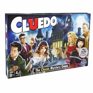CLUEDO - The Classic Mystery Family Fun Board Game by Hasbro Gaming