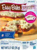 NEW Easy Bake Ultimate Oven Cheese Pizza Refill Mix - Makes 2 Pizzas
