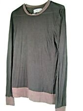 Groceries Apparel Organic Cotton Browns Sweatshirt Top Size XS