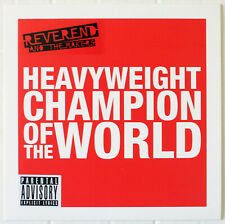 """Reverend And The Makers Heavyweight Champion Of The World - 2 x 7"""" Vinyl Single"""