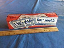 Vintage Automotive Car Accessories Cler-Vue Frost Shields Vintage Aviation