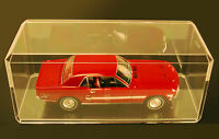 Acrylic Display Cases  (8) 1:18 Scale Model Car Truck Dolls Bobbleheads #355-C-8