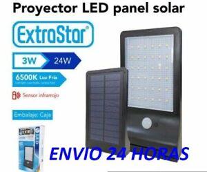 LED Exterior Energía solar Foco Lámpara Pared Paisaje Jardín Patio, Luz Blanca 1