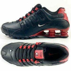 Nike Shox NZ EU Bred Men's Shoes Black Red White 501524 027