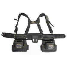 Magnetic 20-Pocket Tool-Belt Construction Suspender Strap Pouch Bag Framer-Rig