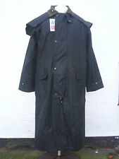 AUSTRALIAN OUTBACK STYLE WAX JACKET OLIVE  SIZE MED RIDING WALKING COUNTRYWEAR