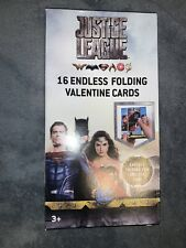 Justice League 16 Endless Folding Valentine Cards New in box