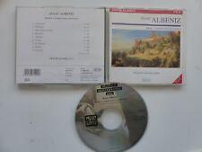 CD ALBENIZ Iberia 9 impressions pour piano ALICIA DE LARROCHA Piano  71001