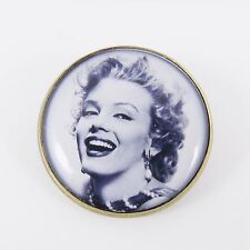 Marilyn Monroe Broche Rockabilly Kitsch Vintage Retro Chic 50s Pin Up bastante