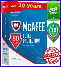 McAfee Total Protection 2020 ✅ 10 Devices, 10 Year înstant Delivery 📩