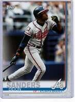 Deion Sanders 2019 Topps Update Complete Atlanta Braves Alumni 5x7 #BAPC-2 /49 B