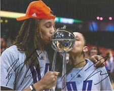 Diana Taurasi Brittney Griner Signed 8 x 10 Photo Wnba Phoenix Mercury Free Ship