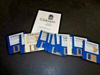 Wallpaper Light & Dark Macintosh Mac Apple Software Computer Floppy Disks 1980's