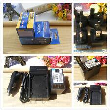 Battery + Charger for JVC BN-VF823U BN-VF815U BN-VF808U GZ-MG555 MG575 new