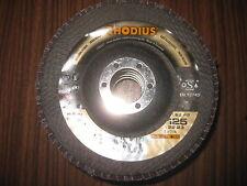 Rhodius Lamellenschleifscheiben LSZ F2 125 x 22,23 mm K40    5 Stück