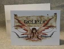 Amy Brown Fairy Believe Note Greeting Card Faery Fantasy Mythical
