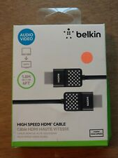 NEW IN BOX Belkin AV10090BT06 High-Speed HDMI Cable, 6' Foot 1.8m