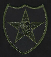 2ND INFANTRY DIVISION US ARMY BADGE HAT PATCH SUBDUED PIN UP WOW L@@K!!