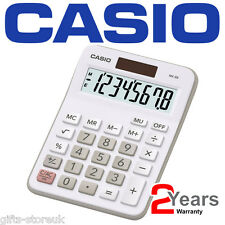 Casio MX-8B Ideal Student Home Business Office Workers Desk Top Calculator