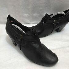 Wear Ever Trèfle à Enfiler Boots Chaussure Talon Moyen Languette Élastique Côté