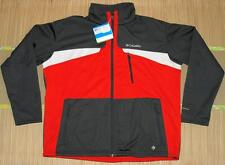 Columbia Men's Depictor Insulated Softshell Jacket, Size XXL Red/Gray - NWT!
