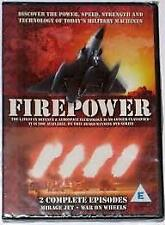 FIREPOWER: MIRAGE JET- WAR ON WHEELS – DVD, R-ALL, NEW, FREE POST IN AUSTRALIA