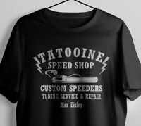 TATOOINE SPEED SHOP LANDSPEEDER INSPIRED T-SHIRT TSHIRT TEE S-XXL
