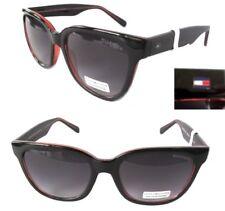 New TOMMY HILFIGER Clara WPOL363  Womens Sunglasses Black/Gray $60