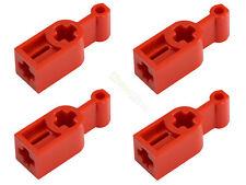 4x LEGO® Technic 6641 19437 Schalthebel Getriebe-Stellhebel rot NEU