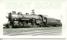 8D632 RP 1939 ROCK ISLAND RAILROAD 2-8-2 ENGINE #2614 ENID OK