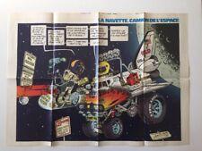 Poster La navette camion de l'espace Supplement Journal Spirou 2217 BD BEGHIN