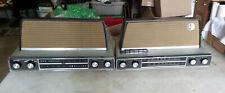 1950's Arvin Hi-Fidelity 3586 AM/FM/Stereo Tube Radio & Tube Amplifier