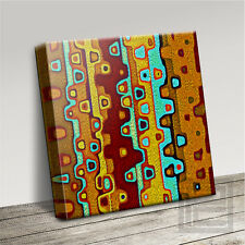 ABSTRACT AFRICA INSPIRED FABULOUSLY DECORATIVE CANVAS PRINT PICTURE Art Williams