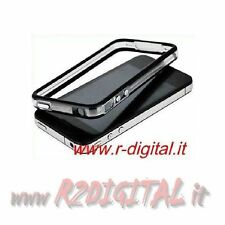 CUSTODIA PER APPLE IPHONE 4 4G 4S BUMPER COVER LATERALE VARI COLORI ALTA QUALITA