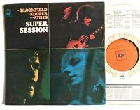 SUPER SESSION Mike Bloomfield / Al Kooper / Steve Stills 1968 Blues Rock MONO LP