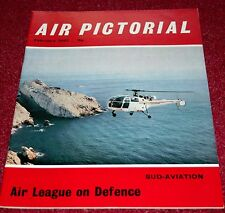Air Pictorial 1967 February Sud Aviation,Piper Cherokee,Caudron Rafale,Andover