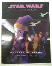 star wars role playing game secret of naboo steve miller & jo wiker