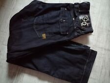 G STAR RAW Jeans 30/32 BLUE Distressed MENS Button Fly HERITAGE Loose CARPENTER