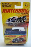Matchbox Lesney Edition Die Cast '63 Cadillac Hearse Blue Mattel New Sealed