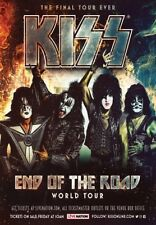 *Photograph print 2* of the KISS - END OF THE ROAD tour poster