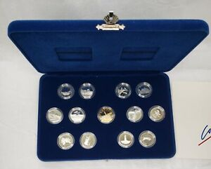 Canada 1992 Provinces 25 Cent Sterling Silver Proof 13 Coin Set