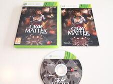 Gray matter By Jane Jensen - Microsoft Xbox 360 - PAL ESP