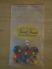 Trivial Pursuit 1981(43) Replacement Pieces (6) Round Holders (36) Wedges 1 Dice