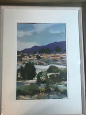 "Superb Reita Newkirk ""Gypson Flats"" Pastel Painting - Signed And Framed"