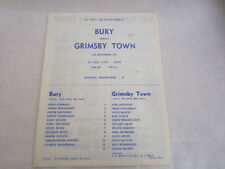 Away Teams F-K Grimsby Town FA Cup Football Programmes
